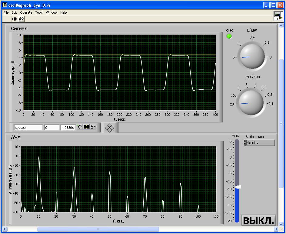 Интерфейс пользователя 30КБ