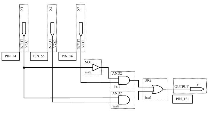 Схема устройства в среде